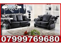 Diana brand new 3 + 2 leather sofa set as in pic 767