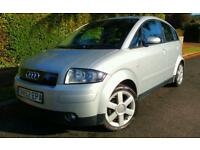 AUDI A2 1.4 TDI SE 2003 **90,000**£30 TAX**70MPG**CAMBELT DONE** TURBO DIESEL