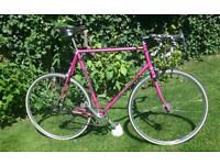 Graham Weigh Reynolds 531c Fixie Retro Steel Road Bike - 63cm 531c frame with Campag ends