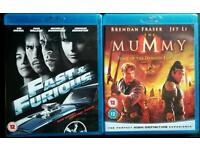 Fast & Furious, The Mummy Tomb of the Dragon Emperor Blu Ray