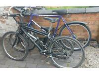 Bmx and 2 mountain bikes spares repairs