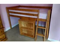 Cabin bed 3ft pine