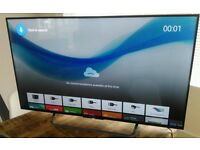 Sony 49inch 4K android smart tv.