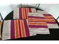 Canvas table mats
