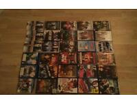 27 Dvds,1 ps3 game and 2 blue rays