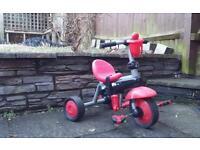 Kids bike (without stick) - red