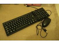 PC keyboard and mouse