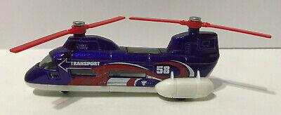 2001 Mattel Matchbox TRANSPORT HELICOPTER Diecast