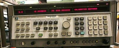 Hp Keysight Agilent 8340a Synthesized Generator Sweeper 10mhz-26.5ghz