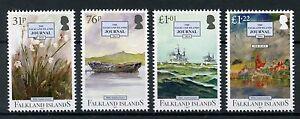 Falkland-Islands-2017-MNH-Falklands-Journal-50th-Anniv-4v-Set-Ships-Boats-Stamps