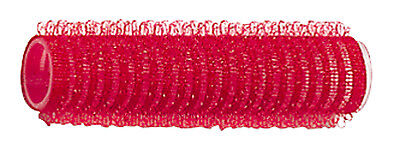 12 Haftwickler Klettwickler rot 13 mm selbsthaftend in Friseur Qualität