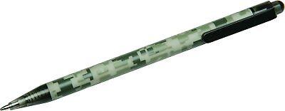 Skilcraft Acu-500 Slim Line Pen Camouflage Barrel Medium Point Black Ink 12