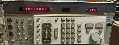 Hewlett Packard HP 8662A Synthesized Signal Generator 10kHz-1280MHz OPT 001 H25