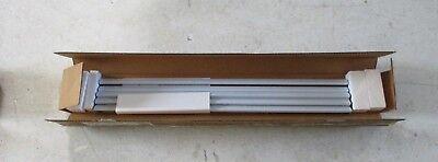 NEW VAIL FIREPLACE DVL1SS-1 DECORATIVE LOUVER KIT STAINLESS STEEL SLAT LOUVER - Fireplace Louver Kit
