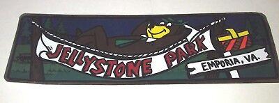 HANNA BARBERA YOGI BEAR JELLYSTONE PARK RESORT VINTAGE 1984 BUMPER STICKER