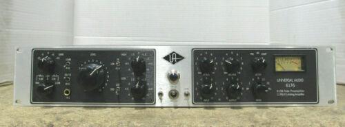 Universal Audio 6176 Channel Strip 610B Tube Mic Preamplifier & 176LN Compressor