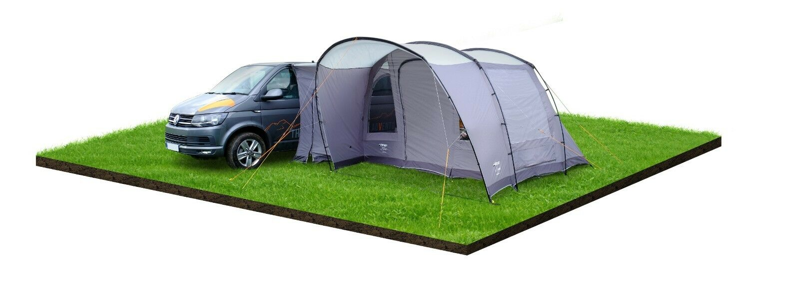 VANGO NOOSA LOW POLED DRIVE AWAY AWNING FOR CAMPERVANS. VW ...