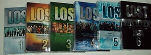LOST The Complete TV Series Seasons 1-6 Dvd Sets Brand New With FREE SHIPPING