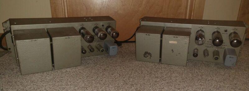 PAIR OF RARE WESTERN ELECTRIC MCINTOSH KS-16575 TUBE AMPLIFIER