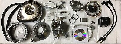 Harley Twin Cam EFI to Carburetor Conversion S&S/ E & Stand Alone Ignition 02