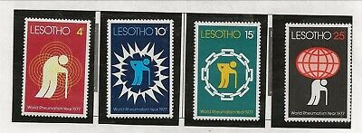 LESOTHO Sc 233-6 NH issue of 1977