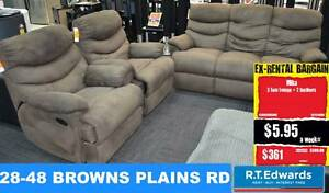 Mika 3 Seat Lounge with 2 Recliners Browns Plains Logan Area Preview