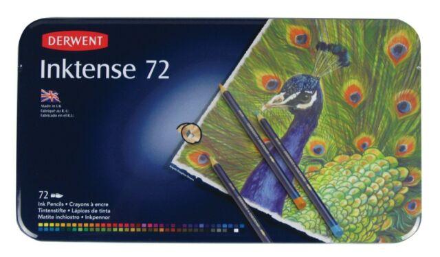 Derwent Inktense 72 Pencil Tin
