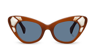 Sunglasses Kaleos Dunnage Brown 49 21 C 002 100% Authentic new