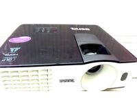 BenQ projector. HDMI, USB, S-VIDEOS, Computer, composite