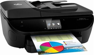 HP Envy 7643 e-All-In-One Color Printer Scanner Copier Fax ~ Ink Included