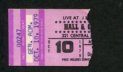 Original 1979 Hall & Oates concert ticket stub X-Static Wait For Me