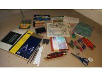 Arts crafts colouring supplies - job lot