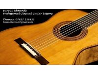 Classical guitar lessons - any age or ability - Bury St Edmunds area