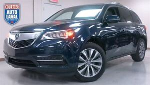 2014 Acura MDX TECHNOLOGY PACKAGE- 7 PASSAGERS-CUIR-TOIT-NAV-CAM
