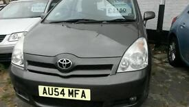 Toyota Corolla Verso 1.8 petrol 7 seats with full service history.