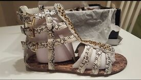 Brand new and unworn sandals in size 8