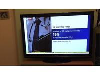"Panasonic viera 50"" hd tv"