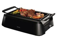 Philips HD6370/91 Smokeless Indoor Grill, 1600 W, retail £265, selling for £150