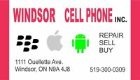 Windsor Cell Phone Inc at 1111 Ouellette Ave 519-300-0309