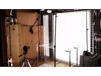UNIQUE! - Invisible Background eBay Amazon Studio LED Panel Lighting Kit Rapid Product Photography