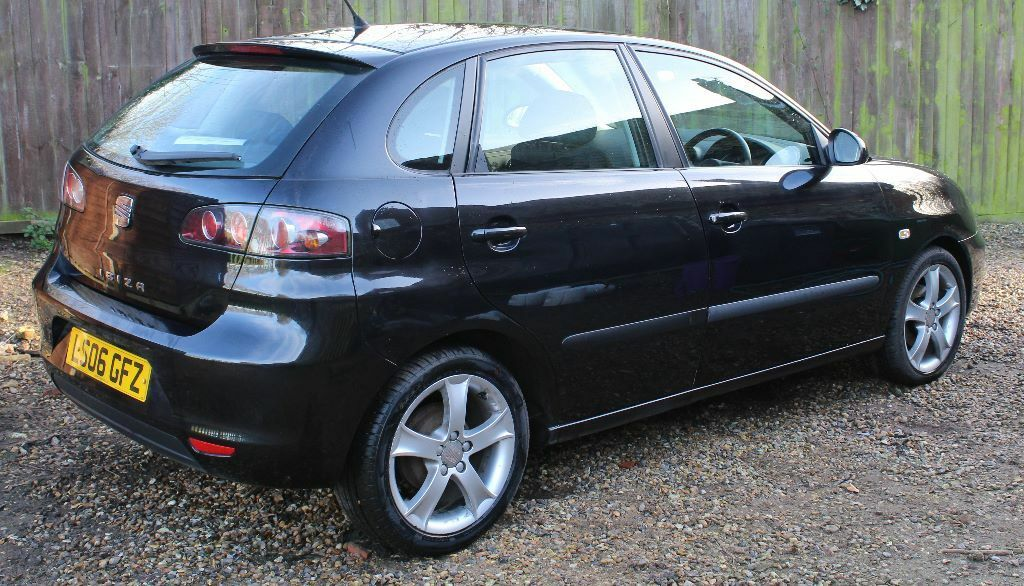 seat ibiza sport 5 door hatchback black 2006 low mileage in cromer norfolk gumtree. Black Bedroom Furniture Sets. Home Design Ideas