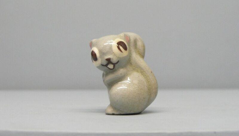 Early Hagen Renaker Gray Squirrel