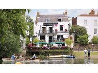 Kitchen assistant/commis chef for busy riverside pub in Twickenham