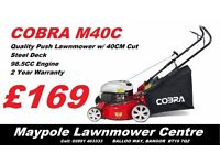 New COBRA Cheap Lawnmower - Good Quality, 2 Year Warranty