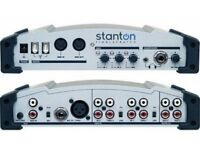 STANTON FINALSCRATCH 2 DJ CONTROLLER MIXER DECKS SOUNDCARD FIREWIRE SOUND CARD FINAL SCRATCH PC MAC