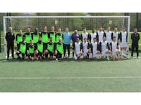 NEW TO LONDON? PLAYERS WANTED FOR FOOTBALL TEAM. FIND A SOCCER TEAM IN LONDON. Ref: FR3
