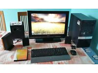 HP Windows 7 Pro Entertainment PC System, Philips 2.1 Sound System and More