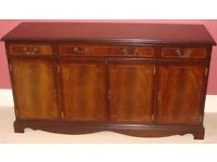 Mahogany Sideboard.........Possibly Ideal for Up-Cycling Project