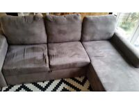 John Lewis corner sofa bed in excellent condition // free delivery