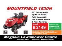 NEW Mountfield 1530H Ride On Lawnmower